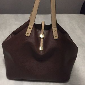 Handbags - Simply Cute Brown Tote Purse